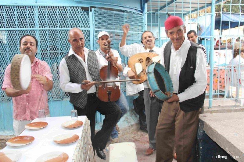 Von Rabat bis Agadir / 16.-24.10.12 / Musikbegleitung beim Fischessen