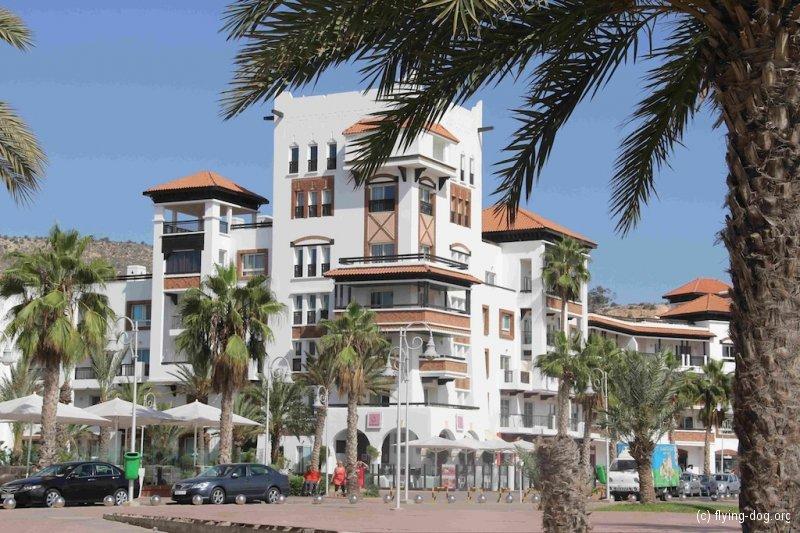 Von Rabat bis Agadir / 16.-24.10.12 / Appartements im Bereich der Marina