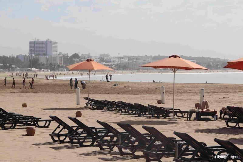 Von Rabat bis Agadir / 16.-24.10.12 / Strand von Agadir