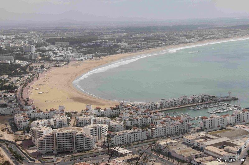 Von Rabat bis Agadir / 16.-24.10.12 / Marina und Strandpromenade Agadir